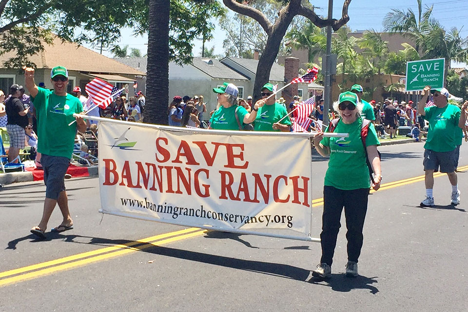 BRC members march in Huntington Beach July 4th parade!