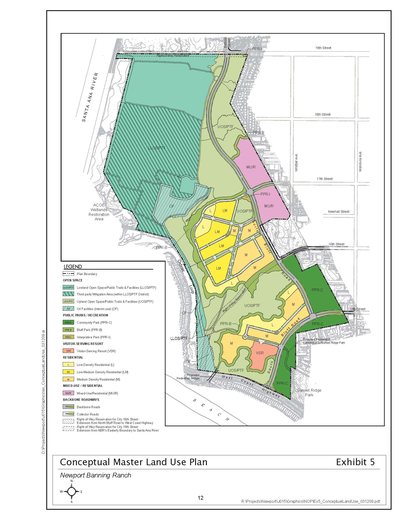 Newport Banning Ranch - Land Use