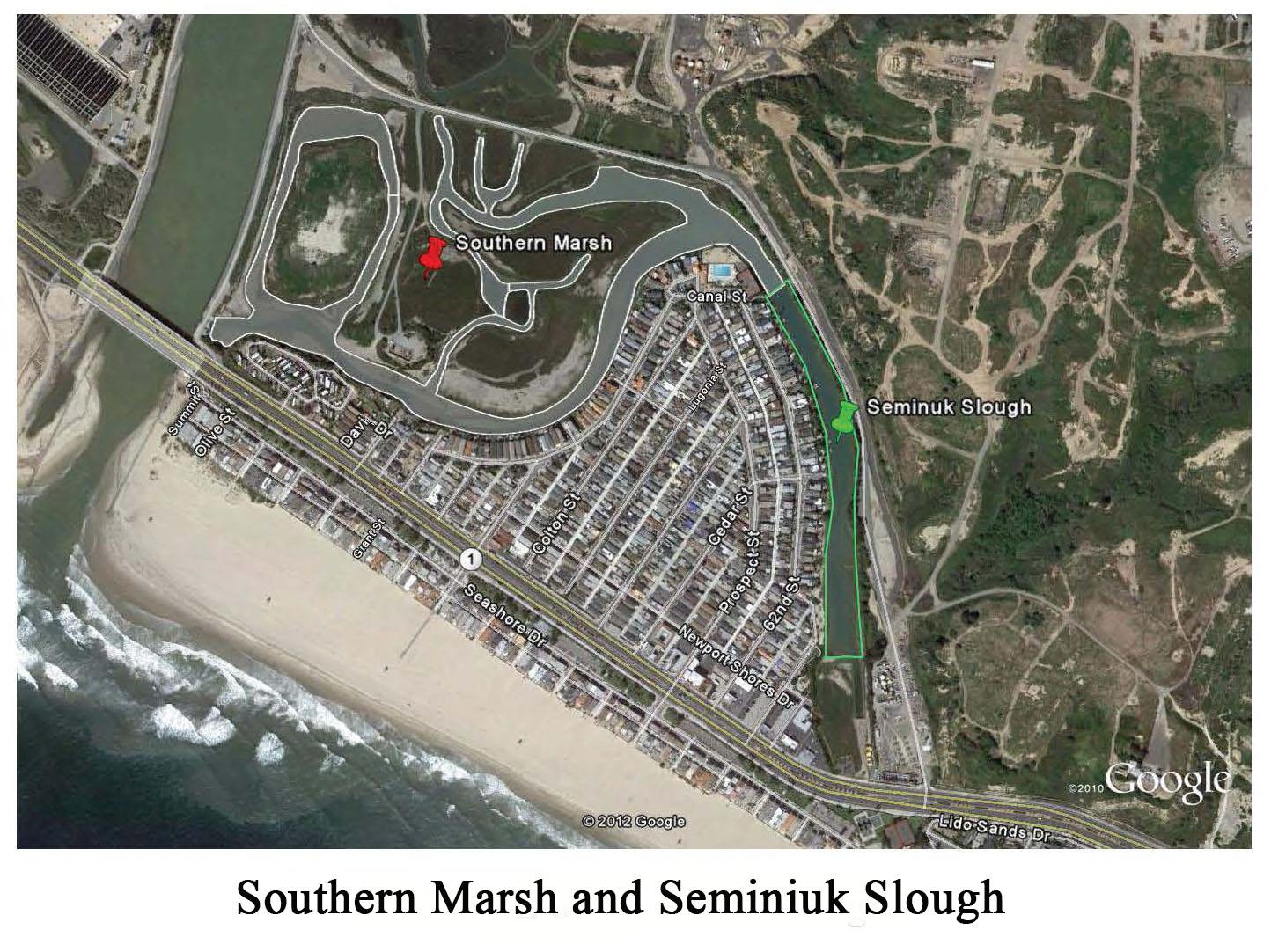 Southern Marsh & Seminiuk Slough