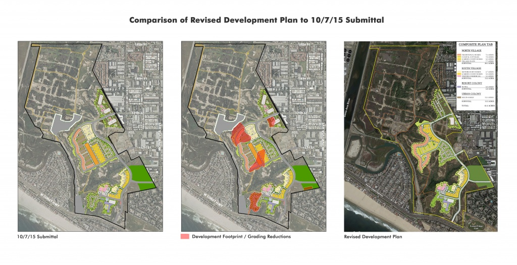 3. Comparison of Revised Development Plan to 10.7.15 Plan